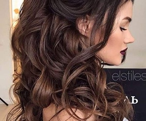 hair, hairstyle, and style image