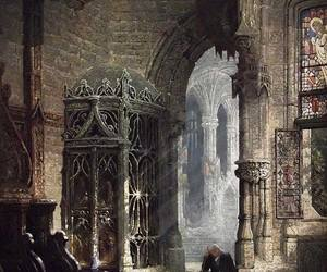 architecture, gothic, and art image