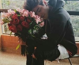boy, flowers, and sebastian villalobos image