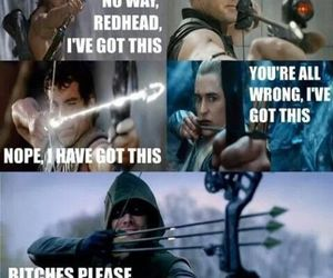 arrow and funny image