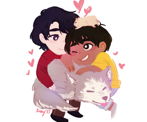 yuri on ice, seung gil lee, and phichit chulanont image