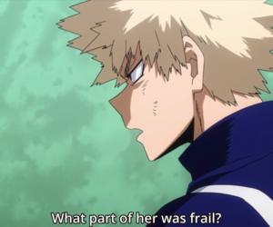 anime, boku no hero academia, and katsuki bakugou image