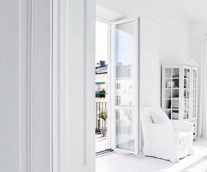 white, interior, and luxury image