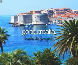sea, Croatia, and dubrovnik image