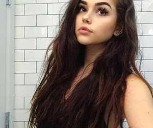 girl, hair, and maggie lindemann image