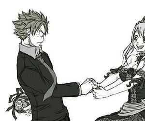 nalu, fairy tail, and anime image