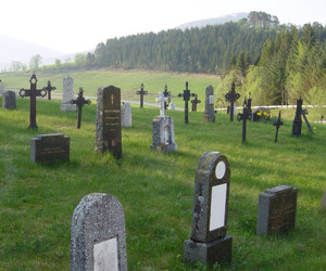 cemetery and dead image