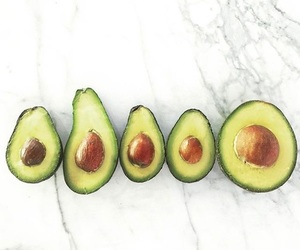 avocado, body positive, and green image