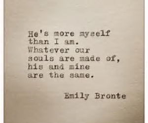 emily bronte, quotes, and love image