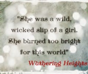 emily bronte, quotes, and wuthering heights image