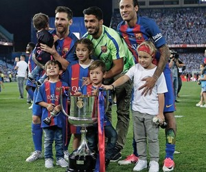 Barca, msn, and davi luca image