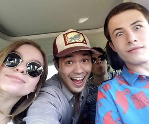 13 reasons why, ross butler, and dylan minnette image