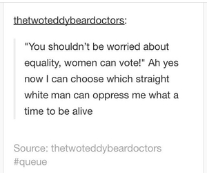 feminism, equality, and sexism image