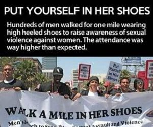 men, funny, and heels image