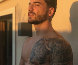 maluma, boy, and tattoo image