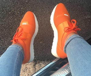 orange and sneakers image