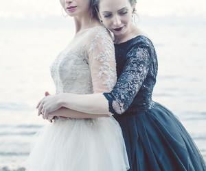 beautiful, black, and dresses image