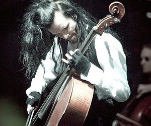 cello, metal, and music image