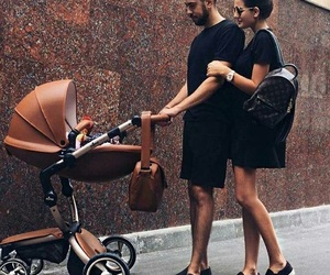 baby, couple, and family image