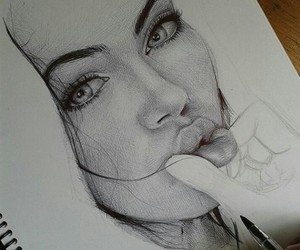 art, drawing, and yes image