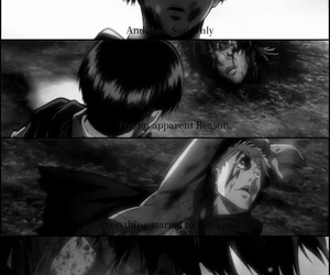 anime, cry, and levi image