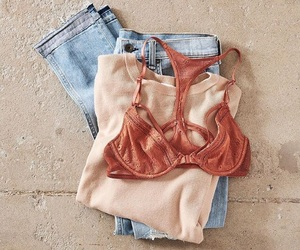 denim, victorias secret, and fashion image