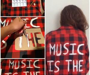 diy, fashion, and music image