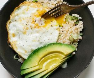 avocado and egg image