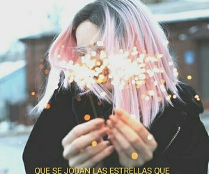 chicas, estrellas, and frases image