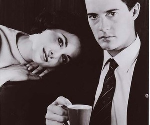 Twin Peaks, dale cooper, and Audrey Horne image