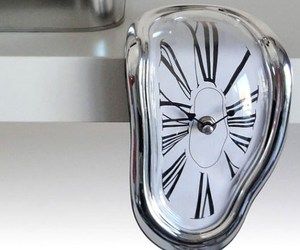 clocks, melting, and watches image