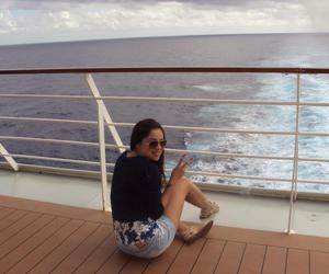 cruise, rayban, and travel image