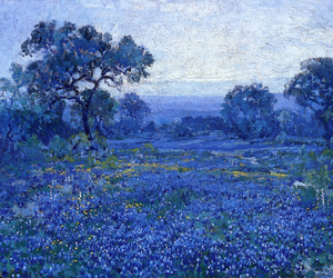 art, blue, and julian onderdonk image