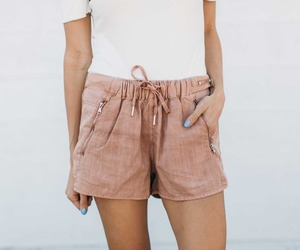 bare legs, fashion, and shorts image
