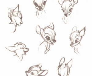 art, bambi, and disney image
