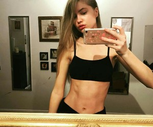 abs, workout inspiration, and nike image