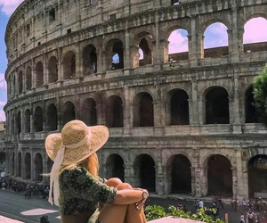 travel, chic, and rome image