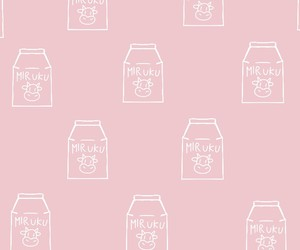 background, cows, and pink image