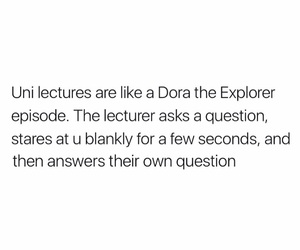 answers, college, and Dora image