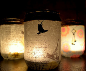 candle, crafts, and diy image