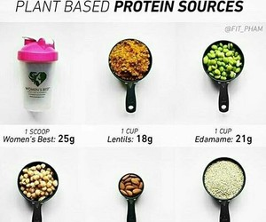 food, natural, and protein image