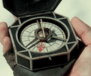 aesthetic, compass, and pirates of the caribbean image