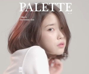 iu, kpop, and palette image