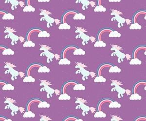 unicorn, background, and wallpaper image