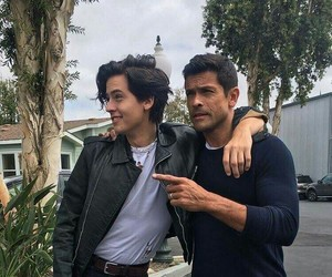 riverdale, cole sprouse, and mark consuelos image