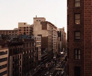 aesthetic, city, and brown image