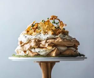 cake, caramel, and creme image