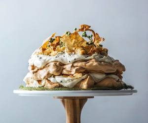 caramel, coconut, and dessert image