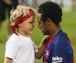 Barca, Barcelona, and father and son image