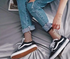 alternative, vans, and chic image